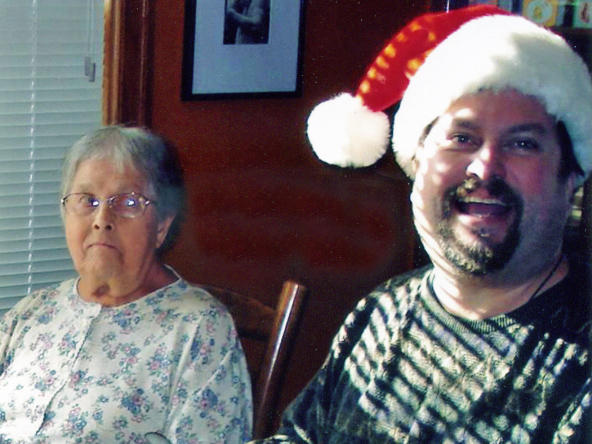 After William Johnson was laid off from his graphic design job in 2007, he was forced to move in with his parents in Racine, Wis. He became the primary caregiver for his mother, Dolores, who passed away in August.