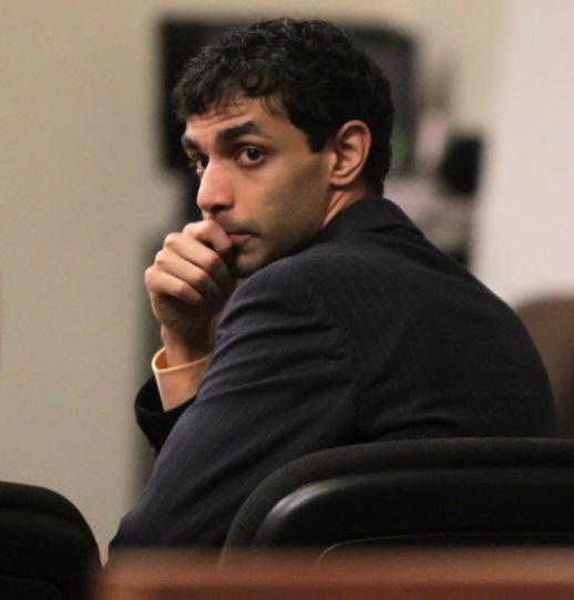 Dharun Ravi in court on Wednesday.
