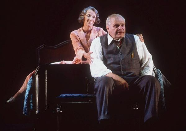 Brian Dennehy and Elizabeth Franz starred in the 50th anniversary Broadway production of the play in 1999.
