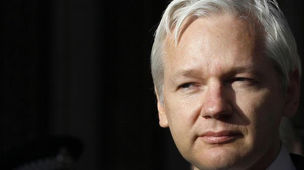 WikiLeaks founder Julian Assange.