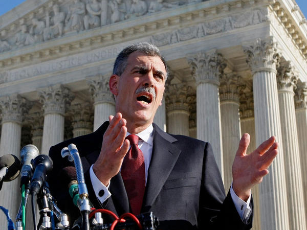 Solicitor General Don Verrilli grew up in Connecticut and received his law degree from Columbia Law School.
