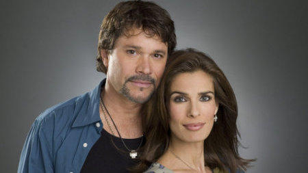 Peter Reckell as Bo Brady and Kristian Alfonso as Hope Williams Brady: still at it after all these years.