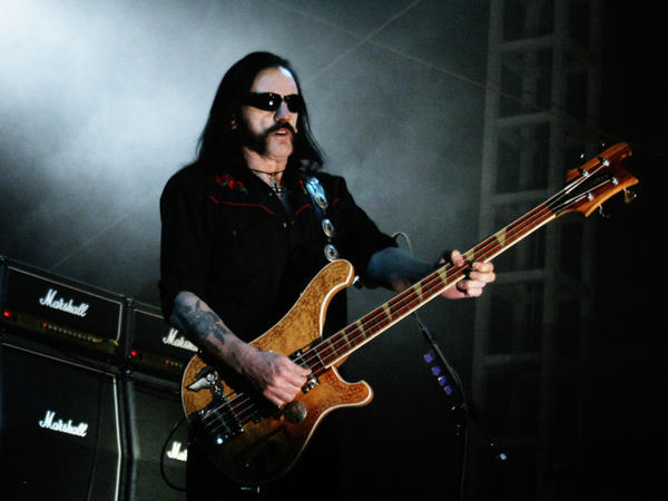 """Lemmy Kilmister immortalized the Marshall amp in the Motorhead song, """"Dr. Rock"""": """"Chin up, shoulders back / You've got a body like a Marshall stack."""""""