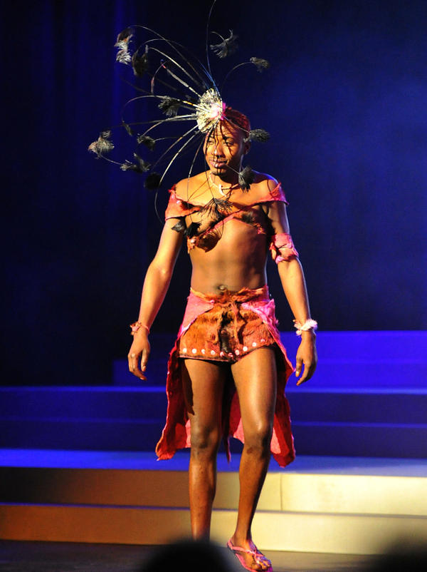 Wendelinus Hamutenya, 23, of Namibia, took part in the Mr. Gay World competition. When he first told his family he was gay, they put him in a mental institution. But now he says they fully support him.