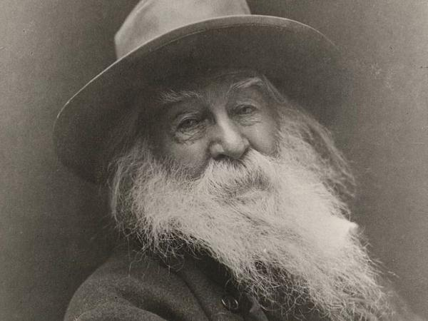 Walt Whitman in 1887.