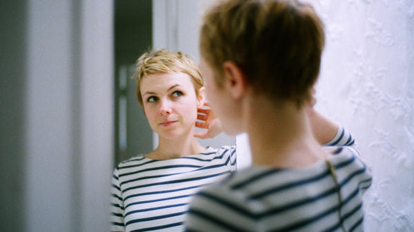 """As usual, the party in my imagination is much grander than the actual one,"" Kat Edmonson says of the song ""Champagne."""