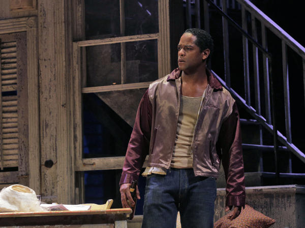 Underwood says he first started acting on the stage at 15, but this production marks his first time on Broadway.
