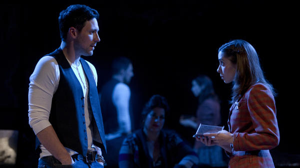 In <em>Once</em>, based on the cult-favorite Irish indie movie, a guy (Steve Kazee) and a girl (Cristin Milioti) fall in love during a whirlwind week of songwriting in Dublin. The show has earned 11 Tony nominations, including two for its leads.