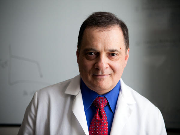 Dr. Paul Simonelli is the director of thoracic medicine for the Geisinger system. Geisinger researchers want to find out whether air pollutants associated with gas drilling are affecting people with asthma and other lung problems.