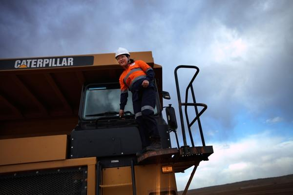 Oyu Tolgoi offers remarkable opportunities for young Mongolians such as Ooarnkoyar Maikhuu, a 22-year-old single mother who drives a 60-ton dump truck.