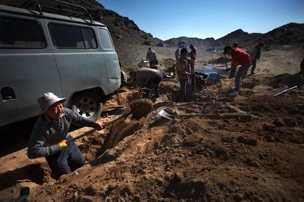 Digging for gold is technically illegal. But many Mongolians do it anyway when they hear of a strike to supplement their incomes.