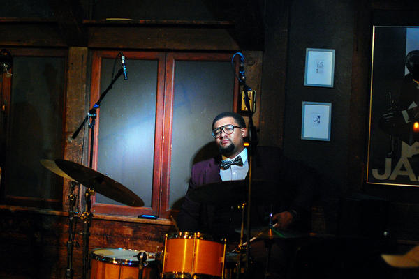 Drummer Khary Shaheed performed with Denise King.