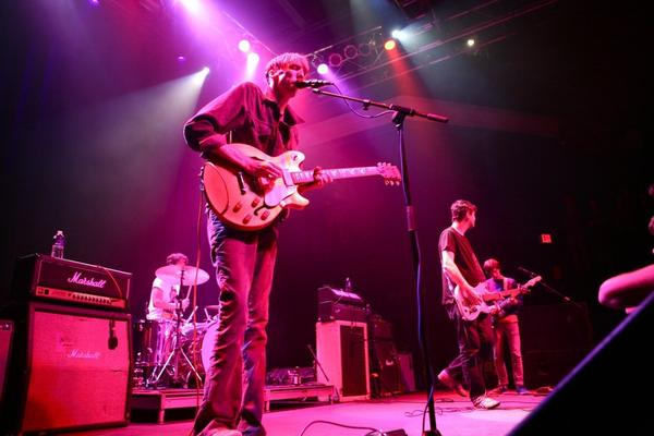 Deerhunter isn't the first band you think of when it comes to Marshall, but take the band's sometimes antogonisticly loud live show into consideration, and it all makes sense.