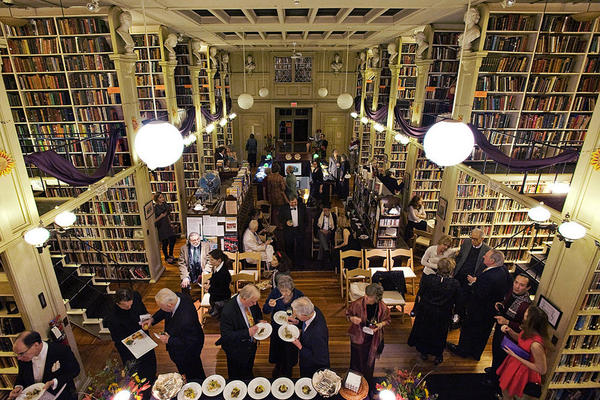 More than 70 years later, the Athenaeum is still a cultural center. This year, the library held a costume party fundraiser, dedicated to Oscar Wilde.