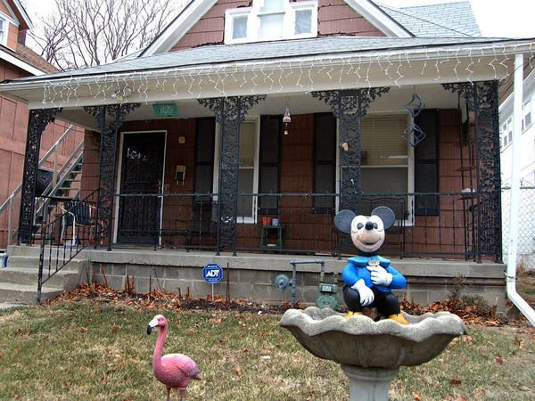 Kansas City, Mo., is filled with sites associated with the boyhood and early career of cartoon pioneer Walt Disney. The neighborhoods where Disney lived and worked remain poor.