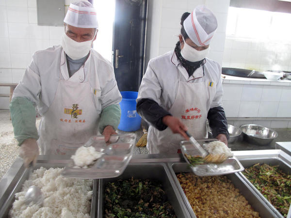 For many of the students, the free school lunch is the best meal of the day. A study last year found that malnutrition has stunted the growth of 12 percent of China's poorest children.