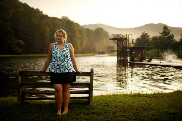Haley Humphrey, 15, from Athens, Ala., at Wellspring in August.
