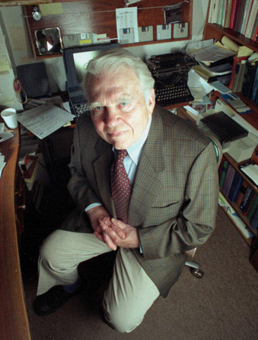 As a commentator for <i>60 Minutes</i>, Andy Rooney became known as one of the most famous curmudgeons in American public life.