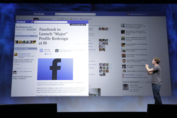 "<b>2011: Facebook Insitutes New Round Of Changes To User Pages.</b> The changes included a real-time ticker and new ways to personalize your page. The Facebook blog says of the changes, the ""News feed will act more like your own personal newspaper."" The company also announced new partnerships for music, movies and TV. You'll be able to see which movies and TV your friends are watching, what music they're listening to and what news items they're reading."
