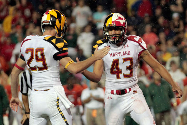 "<b>2011: University Of Maryland Debuts Its New Football Uniforms.</b> According to the Two-Way's Eyder Peralta, the unveiling was met with a lot of disappointment. Some of the Twitter reviews from sports celebrities: ""OH GOSH! Maryland uniforms #Ewwwwww!"" (NBA star LeBron James) and ""Man university of Marylands football team have some ugly jerseys lol"" (soccer star Freddy Adu). If you want a closer look, the university is still auctioining off the matching gloves and cleats from this ensemble."