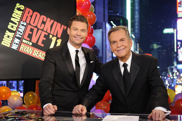 In his later years, Clark became as much a New Year's Eve fixture as he was on Bandstand decades earlier. By 2011, he and Seacrest shared <i>Rockin' Eve</i> host duties.