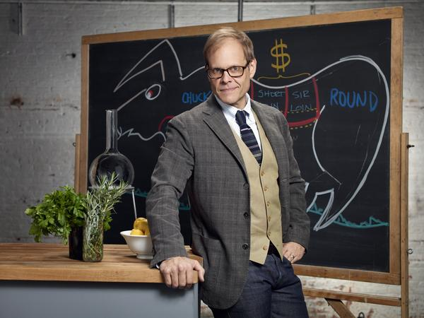 Alton Brown is the creator and host of <em>Good Eats</em> on the Food Network.