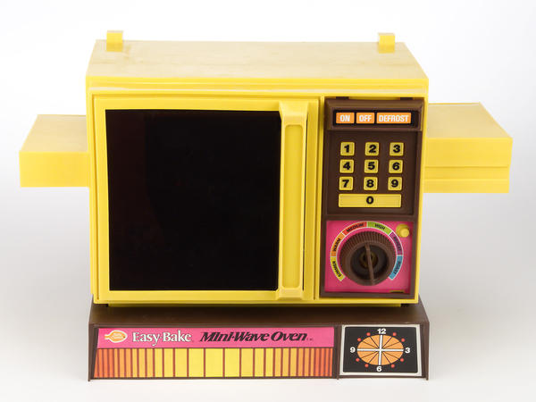 The Easy-Bake has always mirrored the latest fashions in kitchen technology. Since the 1980s, most models have taken their stylistic cues from microwaves instead of convection ovens.