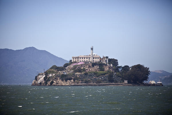 Alcatraz on the 50th anniversary of the escape of inmates Frank Morris, John Anglin and Clarence Anglin.