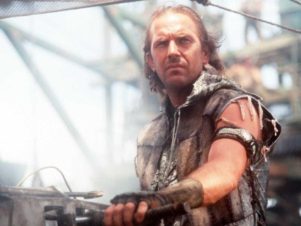 "If you're a fan of <em>Waterworld</em>, then the vision of the future in the Civilization II game played by ""Lycerius"" may be to your liking. (Kevin Costner in a scene from that 1995 movie.)"