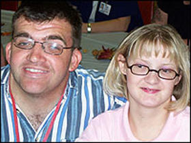 Misty Cargill and her boyfriend, Mike Bishop, in 2006.