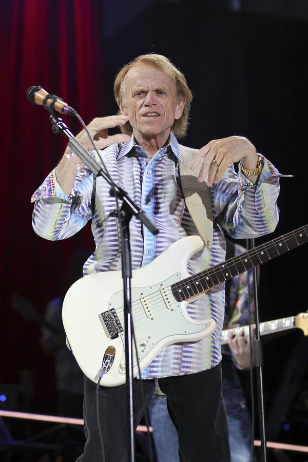 LAS VEGAS, NV - MAY 27: Al Jardine of the Beach Boys perform at the Red Rock Casino, Resort and Spa on May 27, 2012 in Las Vegas, Nevada. (Photo by Jeff Bottari/Getty Images)