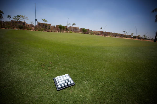 A golf course designed by Greg Norman is the centerpiece of the new SODIC gated community under construction on the outskirts of Cairo.
