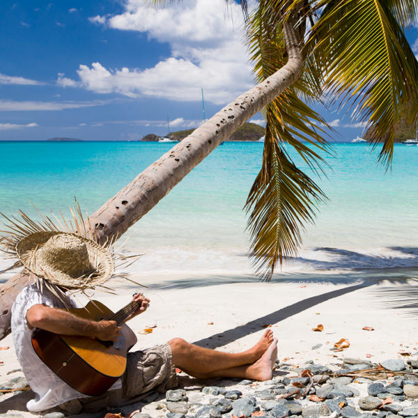 It's great to have your own private island like this one in the Caribbean, unless there's a hurricane bearing down.