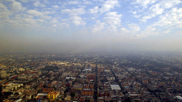 "<strong></strong>In heavily polluted Mexico City, crime writer Paco Ignacio Taibo II describes his exhausted detective Hector Belascoaran Shayne as looking out at his hometown and seeing ""a city that was trying to hide itself in the smog."""