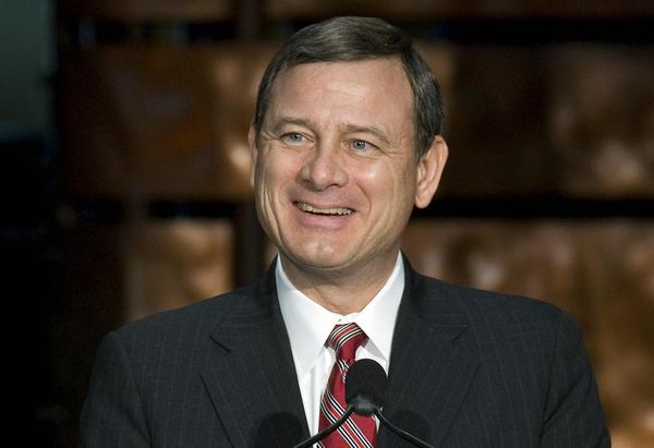 Supreme Court Chief Justice John Roberts.