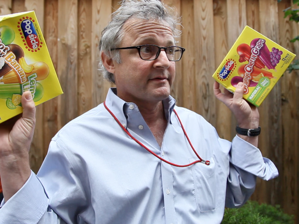 Joe Palca explains how to induce a brain freeze.