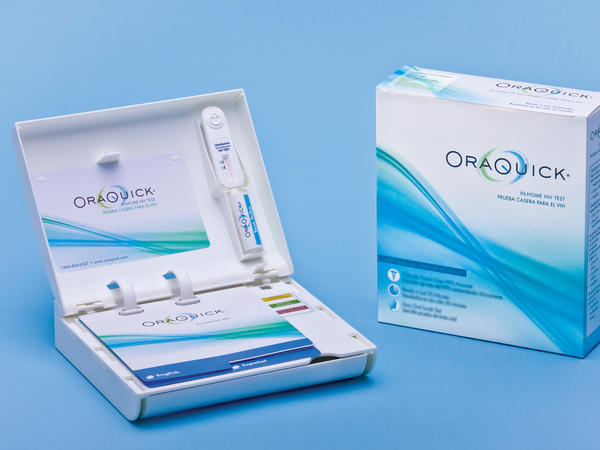 The Food and Drug Administration just approved the OraQuick test, which detects the presence of HIV in saliva collected using a mouth swab.