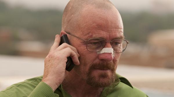 Bryan Cranston as Walter White on AMC's <em>Breaking Bad</em>.
