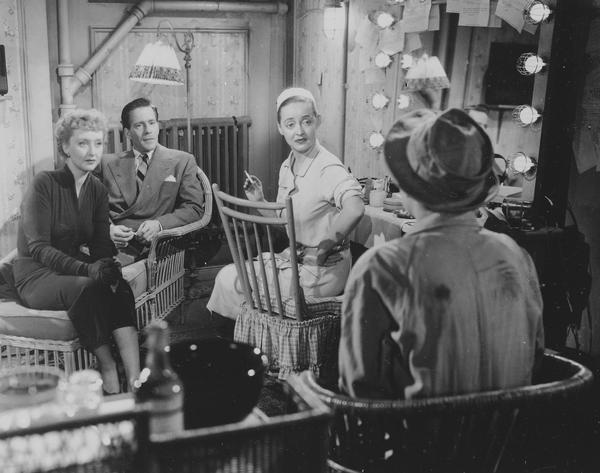 Holm played Bette Davis' best friend in the 1950 movie, <em>All About Eve</em>.