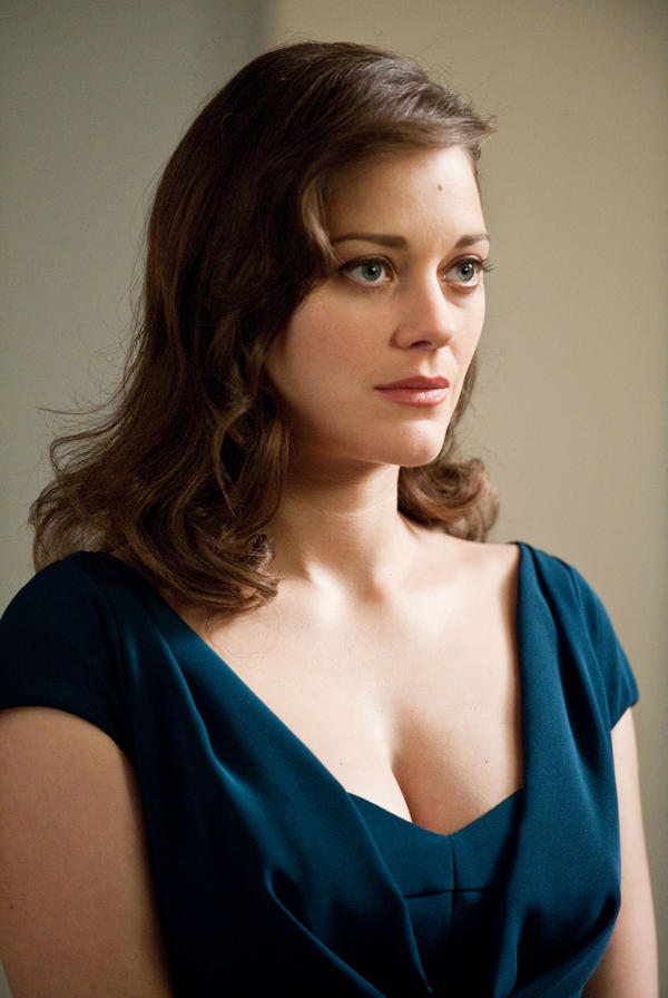 Marion Cotillard as Miranda Tate in <em>The Dark Knight Rises</em>.