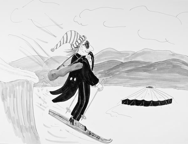 """""""Early Arrival in Aspen"""""""