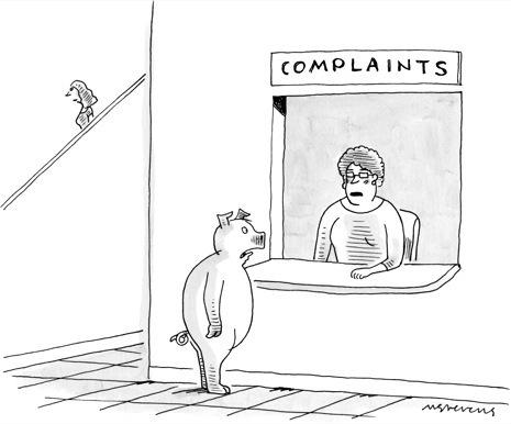 """""""I wish I was taller,"""" was Elaine's caption in the 1998 episode of <em>Seinfeld</em>. Can it get funnier than that? You can try over on <a href=""""http://contest.newyorker.com/CaptionContest.aspx?affiliate=ny-caption"""">The New Yorker's Caption Contest</a> page."""
