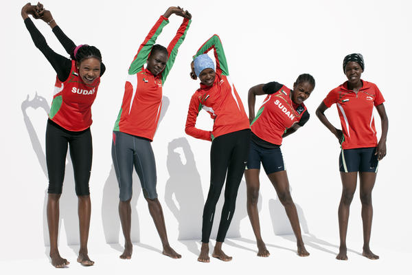 Sudanese track and field team