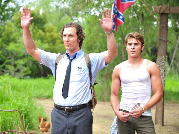 McConaughey and Zac Efron play brothers in Lee Daniels' 2012 film <em>The Paperboy</em>, based on a novel by Pete Dexter. The film played at this year's Cannes Film Festival.