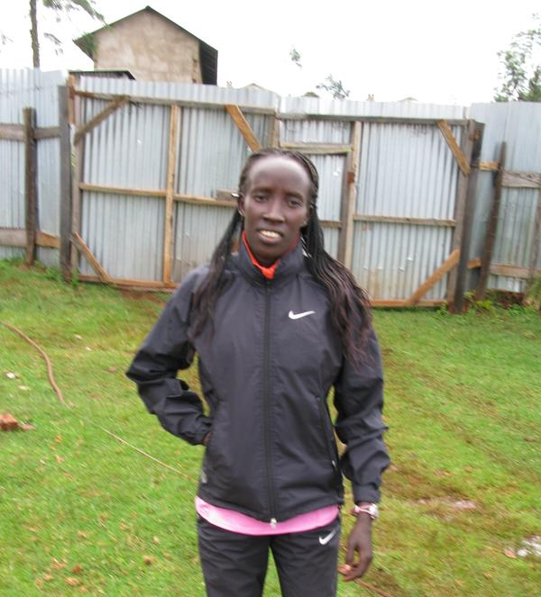 Hellen Kimutai grew up in a one-room hut and ran 6 kilometers each way — barefoot — back and forth to school. In March, she won the Rome City Marathon.
