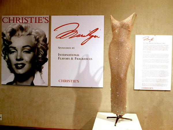 "In 1999, Christie's auctioned the dress Monroe wore when she sang ""Happy Birthday"" to John F. Kennedy for more than $1 million."