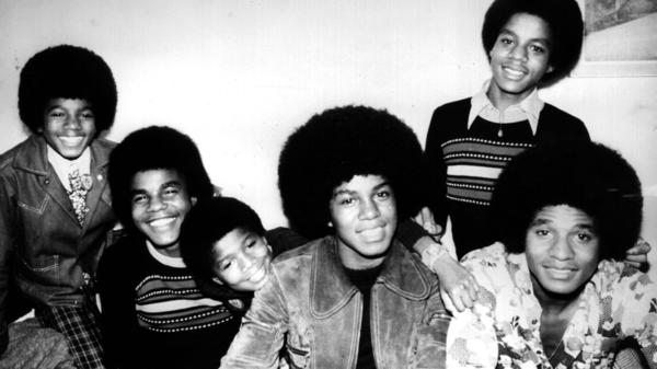 The six brothers who would all get their turn in The Jackson 5.