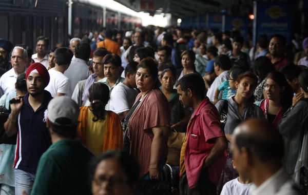 Trains across eight northern Indian states and metro services in New Delhi were affected by the power outage.