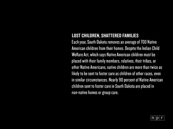 Lost Children, Shattered Families