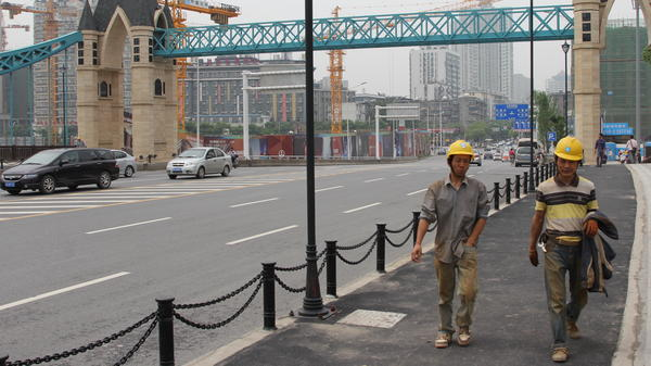 The central Chinese city of Wuhan has a population of 10 million people, more than New York City. Both Chinese and foreigners are flocking to Wuhan, the GDP of which is expected to double in five years.